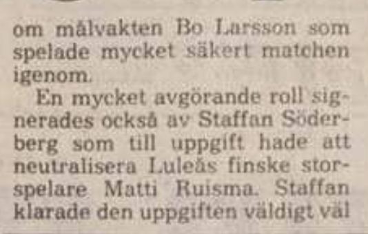 Minnesvärda Luleå Hockey stunder - Sida 2 00607910