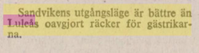 IFK Luleå 16306010