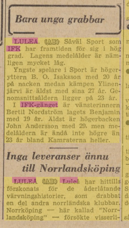 IFK Luleå - Sida 2 21dc5a10