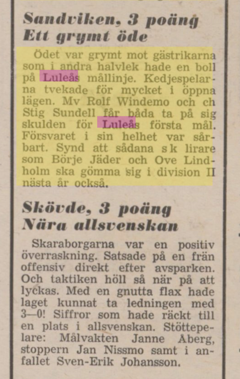 IFK Luleå - Sida 2 28046610