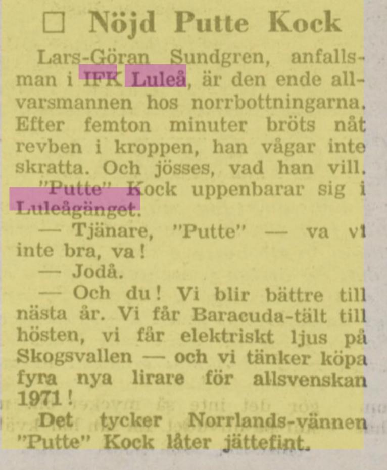 IFK Luleå - Sida 2 2bd58910
