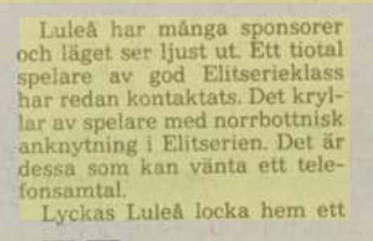 Minnesvärda Luleå Hockey stunder - Sida 2 42c92810