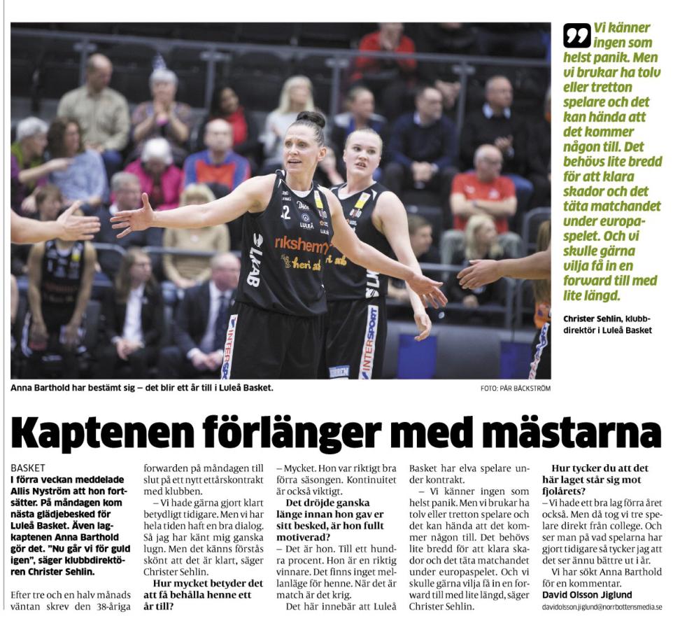 Luleå Basket 4e729a10
