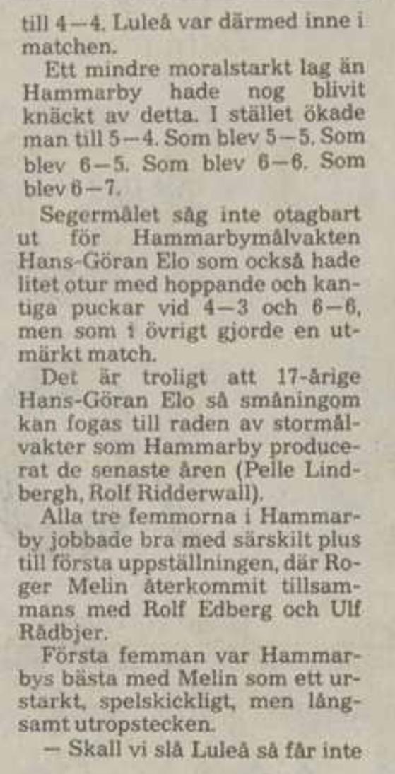 Minnesvärda Luleå Hockey stunder - Sida 2 7604ec10
