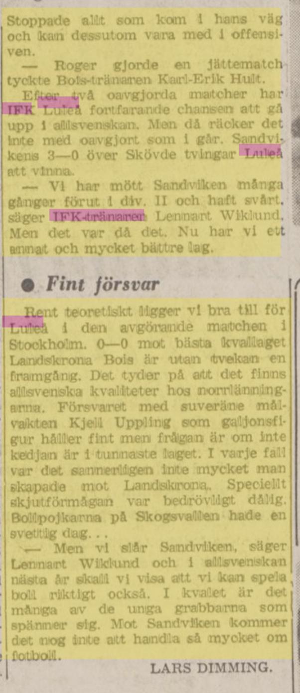 IFK Luleå 80d18010