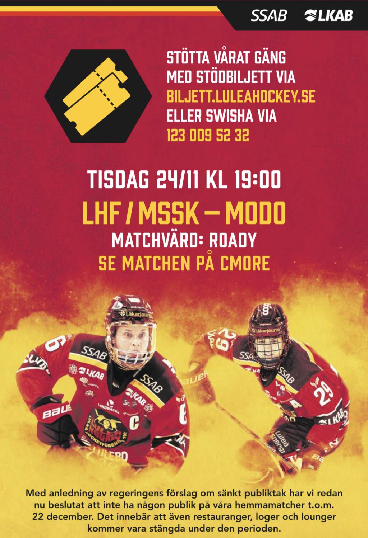 Matchtråd för LHF/MSSK 2020/2021 84cb9010