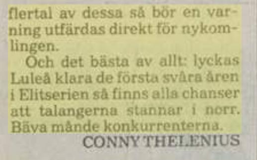 Minnesvärda Luleå Hockey stunder - Sida 2 89d4be10