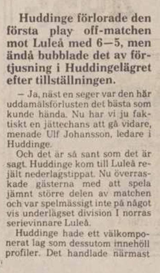 Minnesvärda Luleå Hockey stunder - Sida 2 99154610