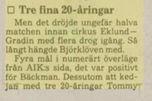 Tidningsurklipp 9ad43f10