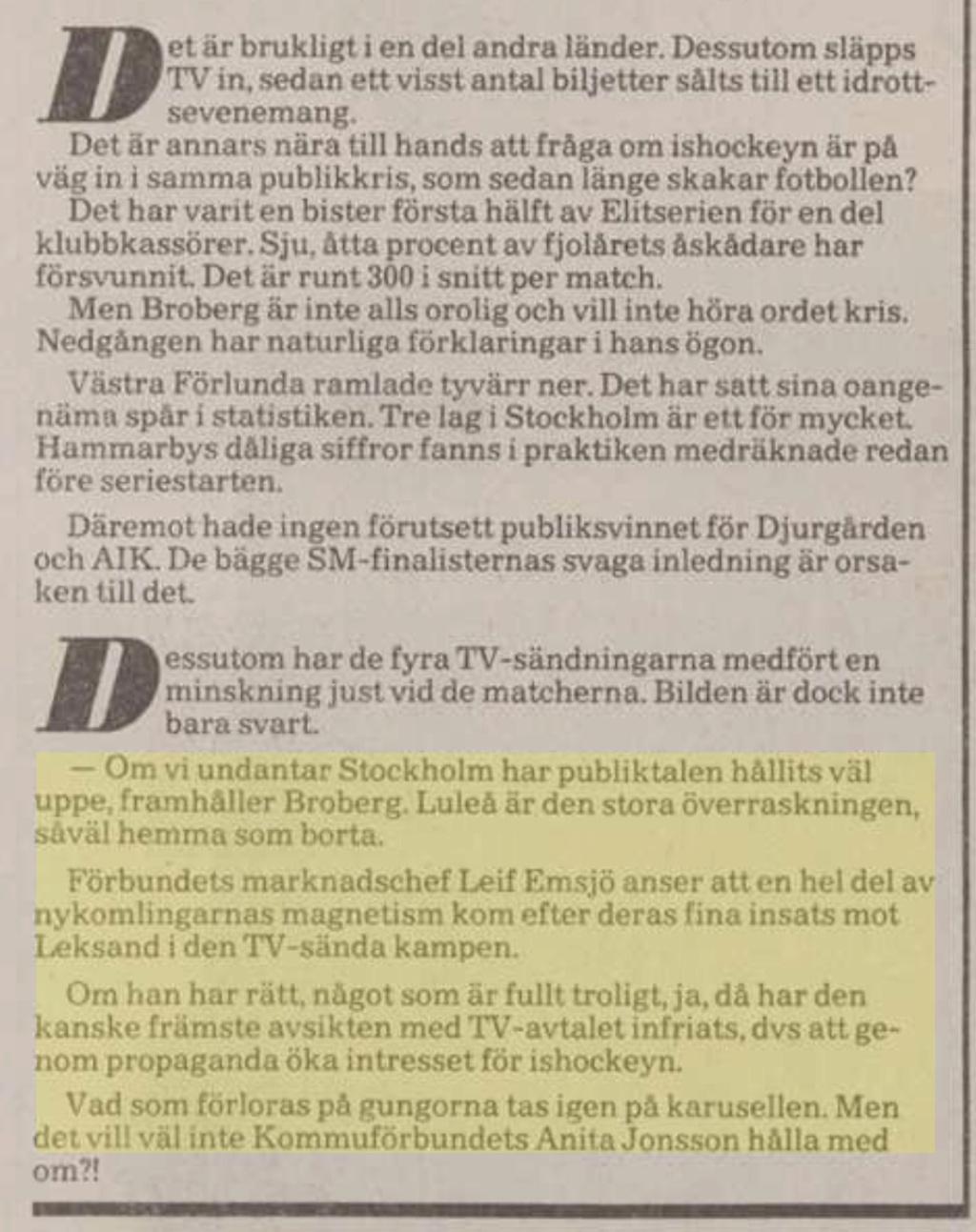 Tidningsurklipp A4ff1c10