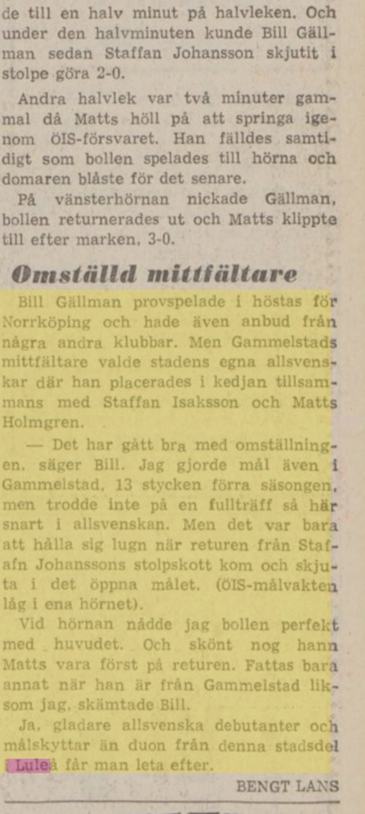 IFK Luleå A7725310
