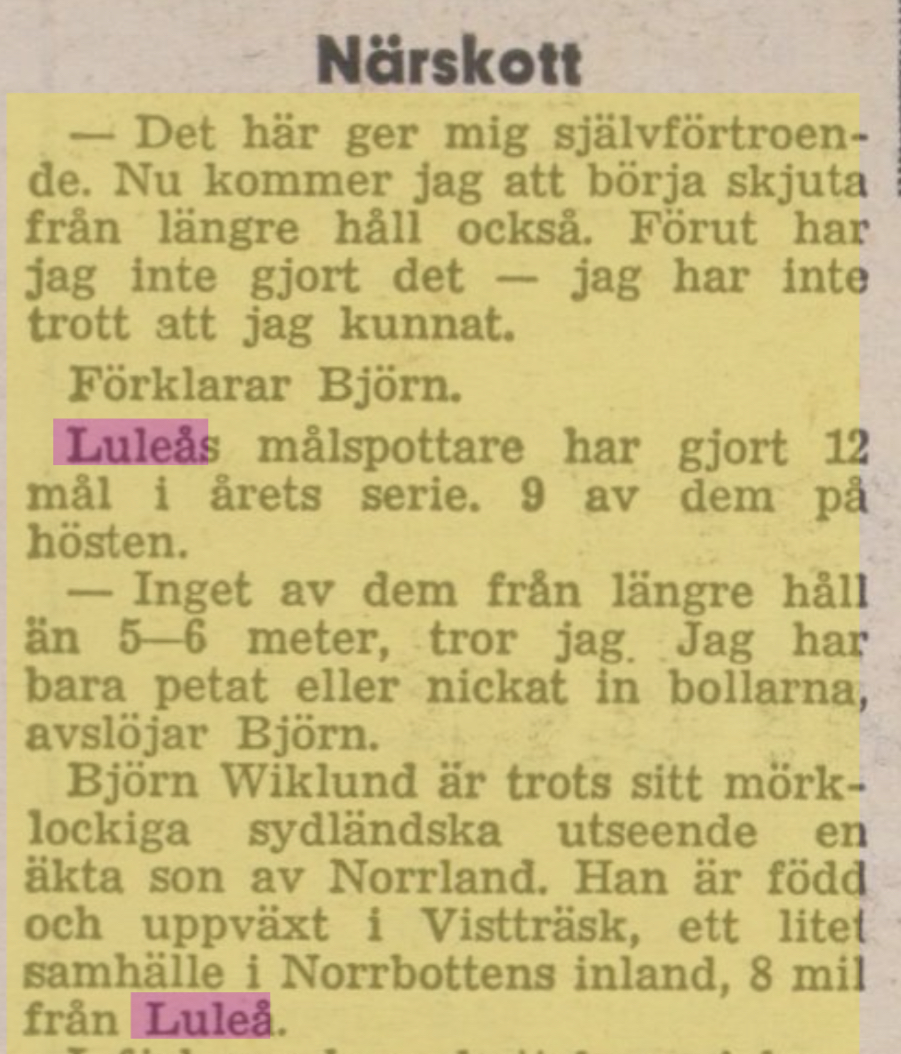 IFK Luleå A8027810