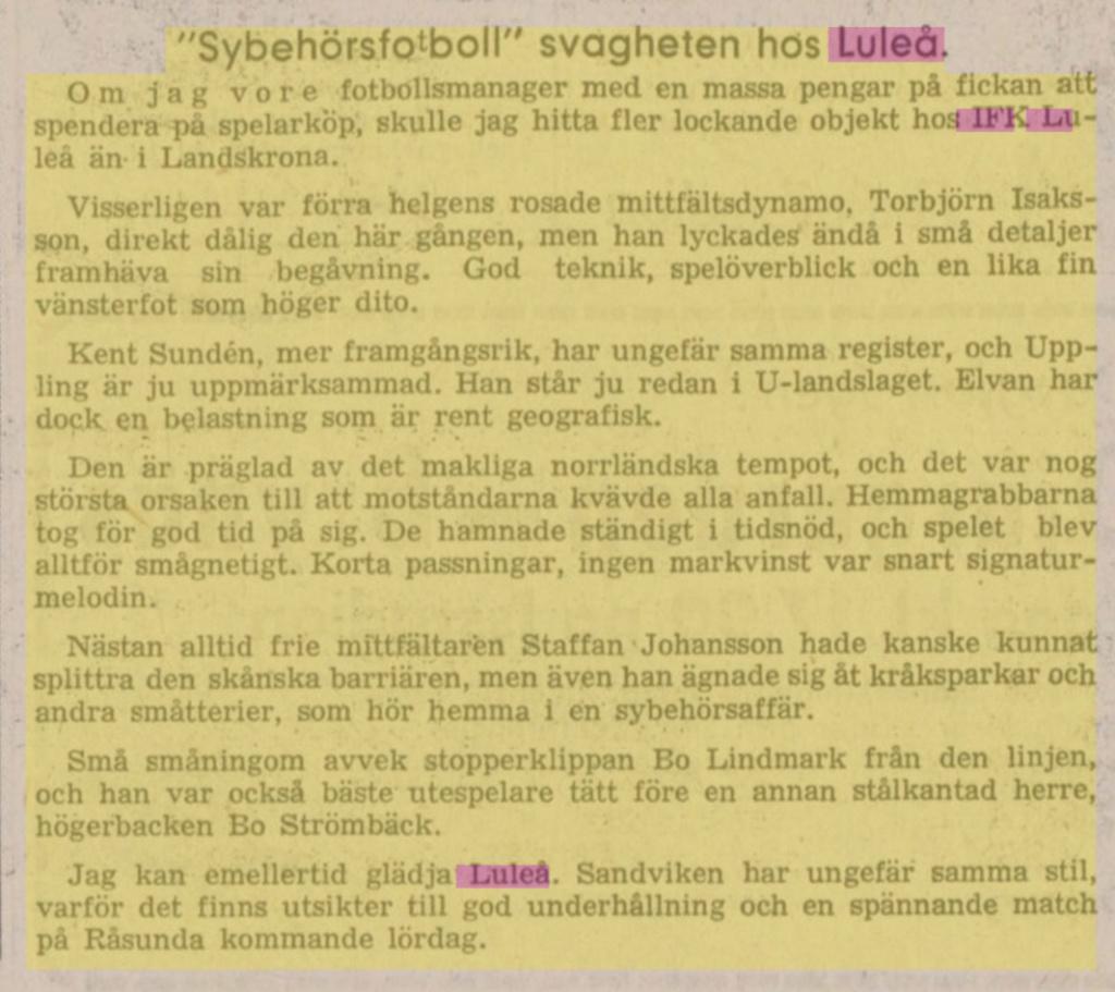 IFK Luleå B8b54510