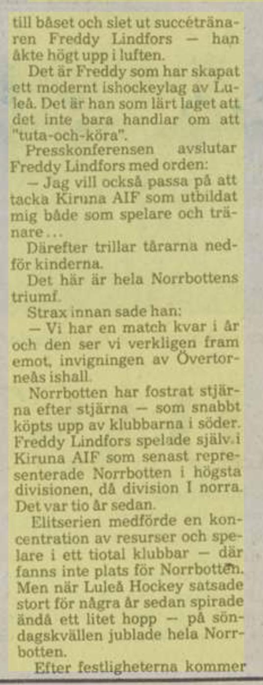Minnesvärda Luleå Hockey stunder - Sida 2 Bbd75710