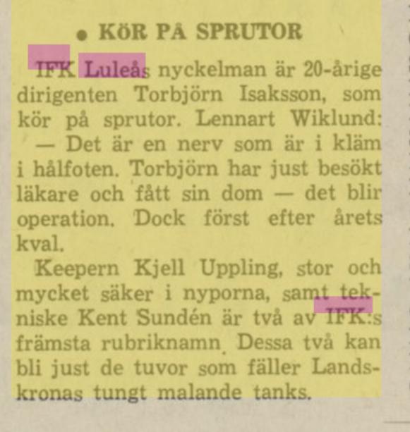 IFK Luleå Bfe10710