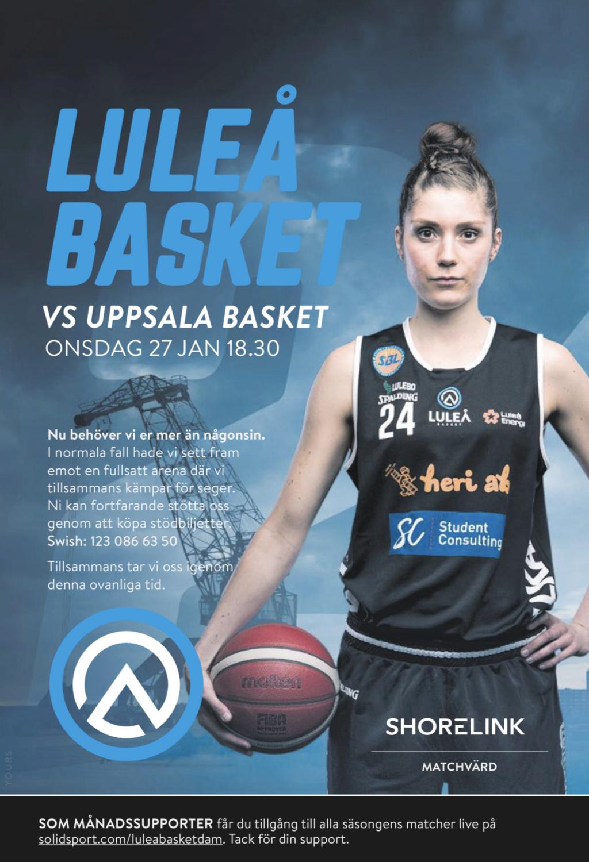Luleå Basket E6123710