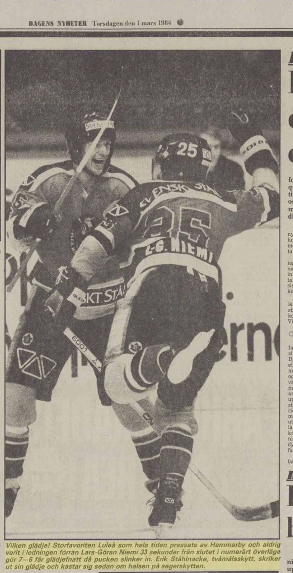 Minnesvärda Luleå Hockey stunder - Sida 2 E9836b10
