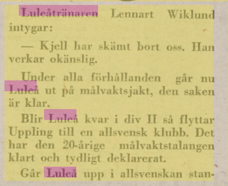 IFK Luleå F6306a10