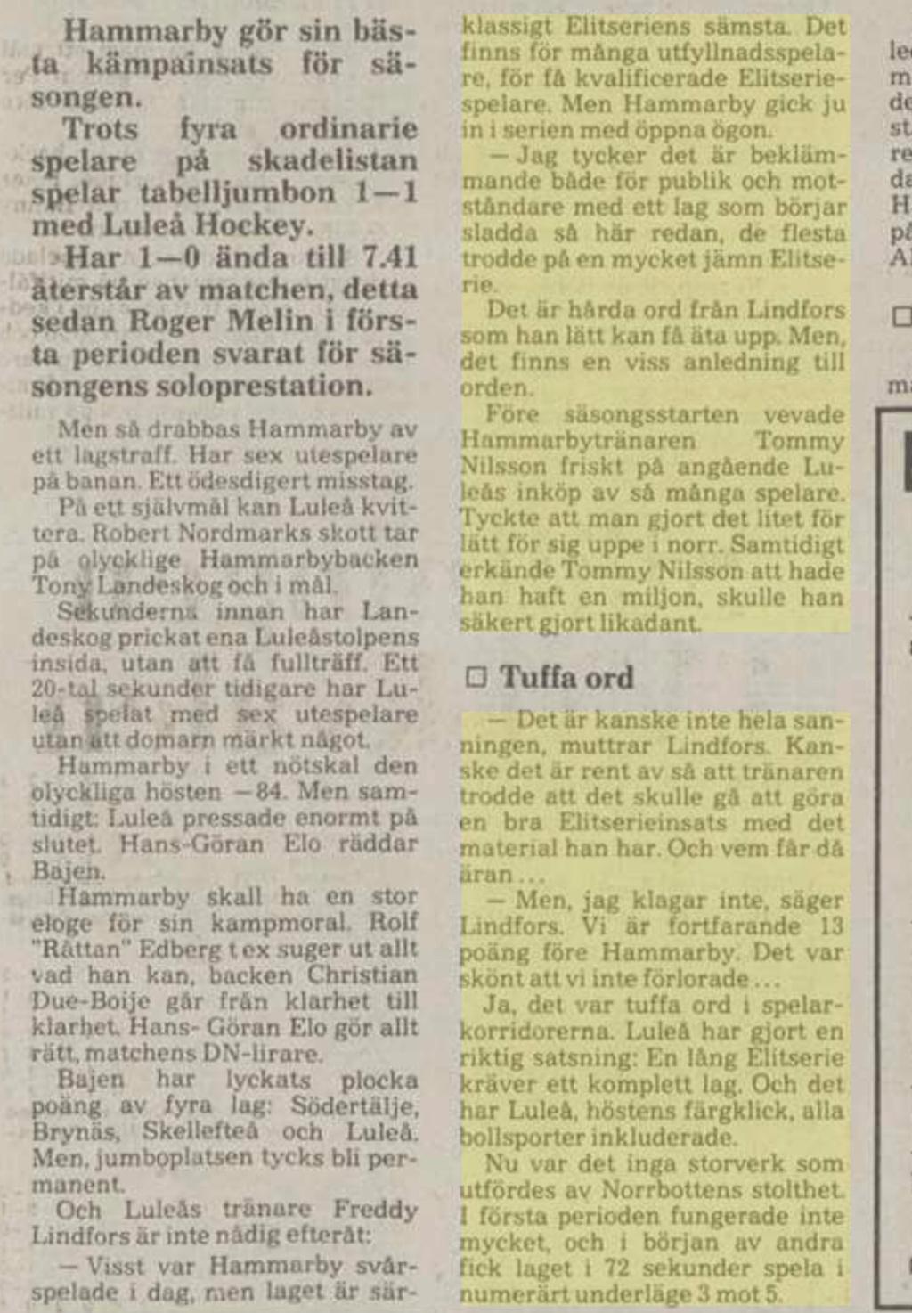 Tidningsurklipp Fcfb8e10