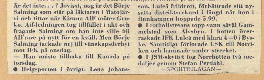 Seard Åberg - Mannen bakom Luleå Hockey Förening jubilerar Skzir101