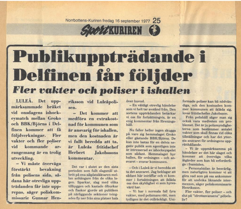 Seard Åberg - Mannen bakom Luleå Hockey Förening jubilerar Skzir129