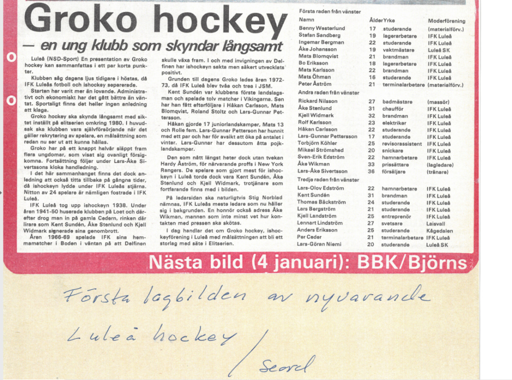 Seard Åberg - Mannen bakom Luleå Hockey Förening jubilerar Skzirm11