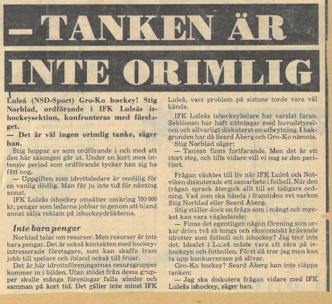 Seard Åberg - Mannen bakom Luleå Hockey Förening jubilerar Skzirm13