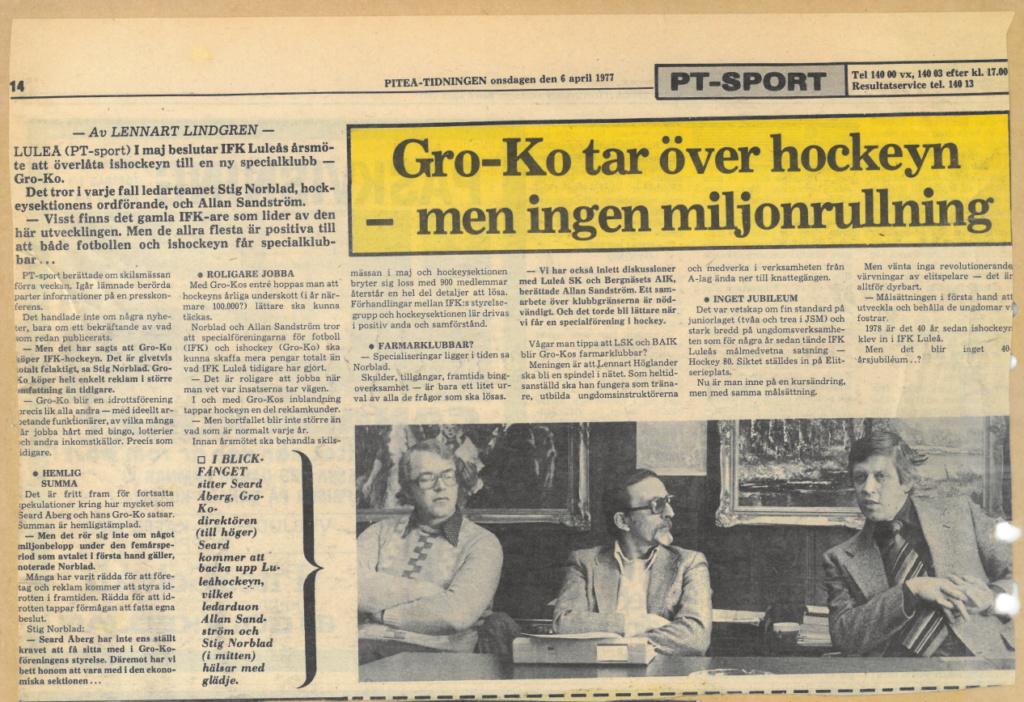 Seard Åberg - Mannen bakom Luleå Hockey Förening jubilerar Skzirm15