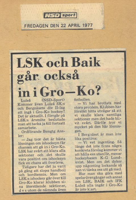 Seard Åberg - Mannen bakom Luleå Hockey Förening jubilerar Skzirm17