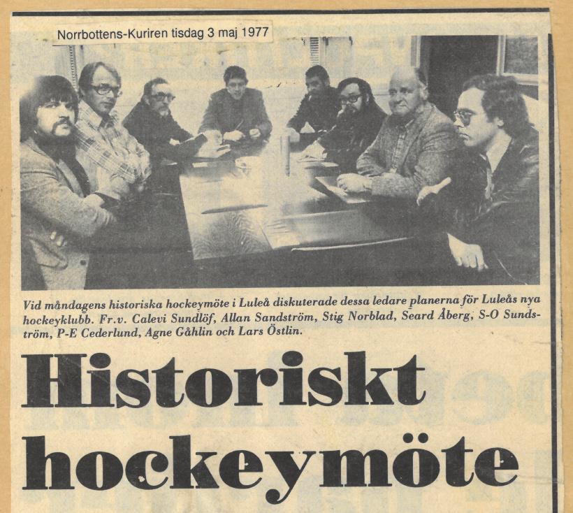 Seard Åberg - Mannen bakom Luleå Hockey Förening jubilerar Skzirm20