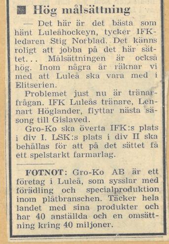 Seard Åberg - Mannen bakom Luleå Hockey Förening jubilerar Skzirm21