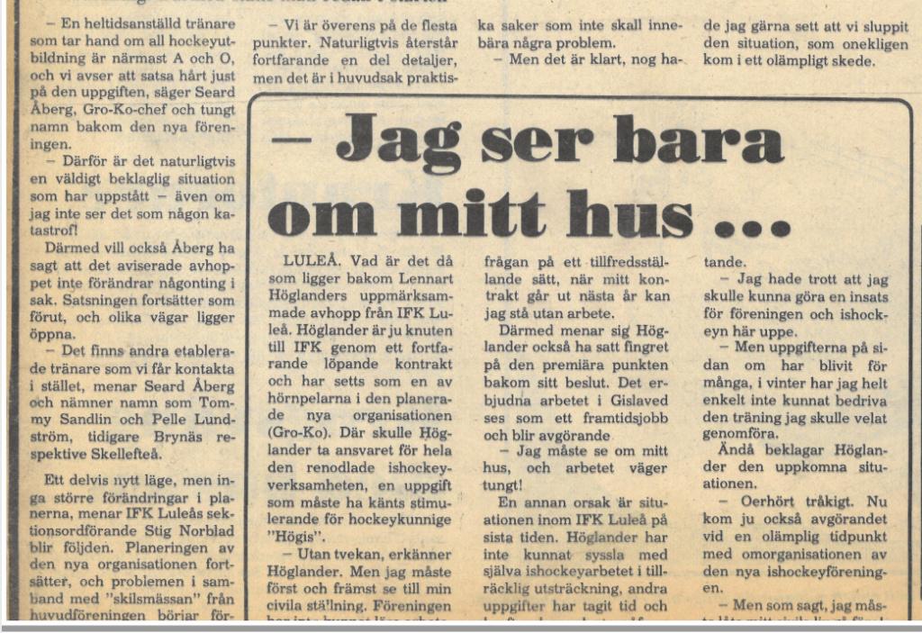 Seard Åberg - Mannen bakom Luleå Hockey Förening jubilerar Skzirm26