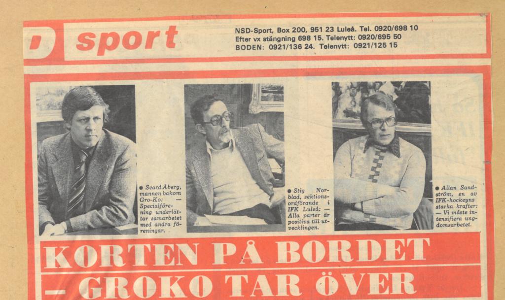Seard Åberg - Mannen bakom Luleå Hockey Förening jubilerar Skzirm30