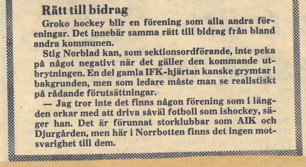 Seard Åberg - Mannen bakom Luleå Hockey Förening jubilerar Skzirm31