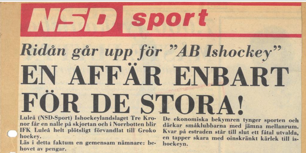 Seard Åberg - Mannen bakom Luleå Hockey Förening jubilerar Skzirm34