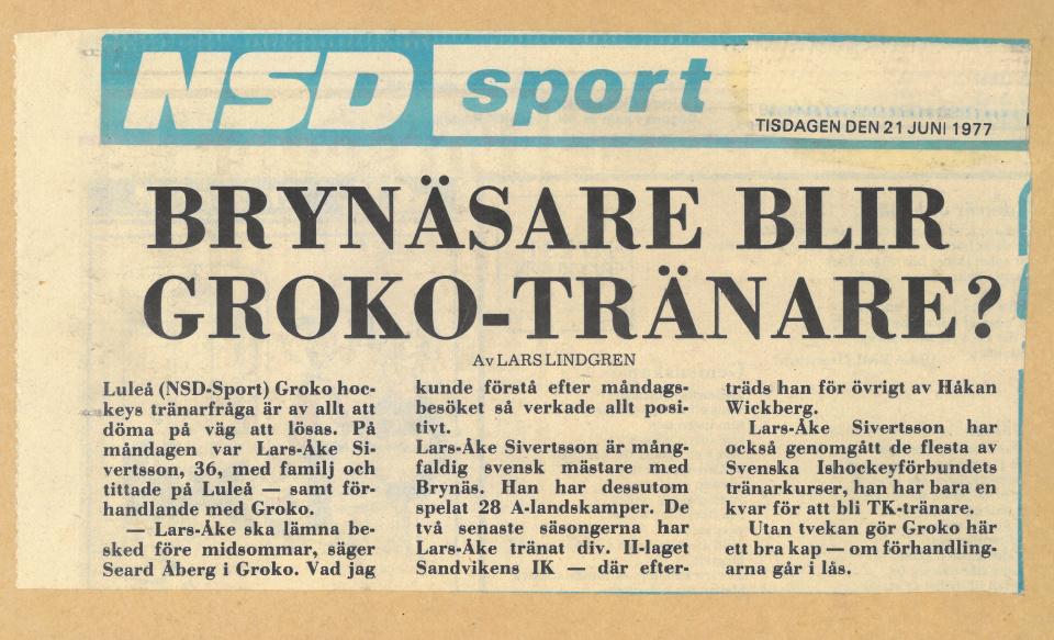 Seard Åberg - Mannen bakom Luleå Hockey Förening jubilerar Skzirm35