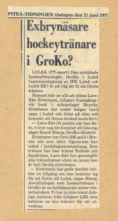 Seard Åberg - Mannen bakom Luleå Hockey Förening jubilerar Skzirm36