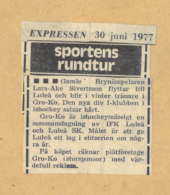 Seard Åberg - Mannen bakom Luleå Hockey Förening jubilerar Skzirm37