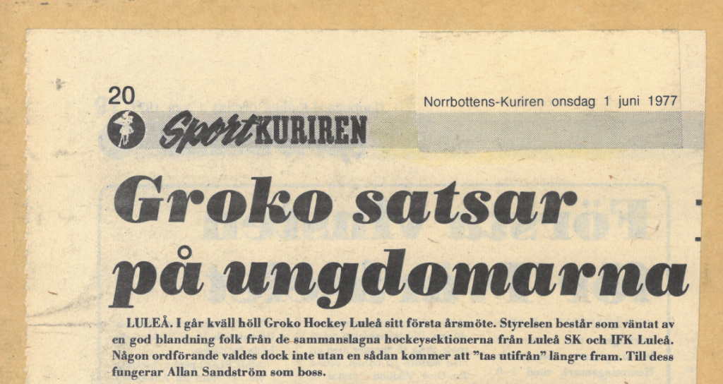 Seard Åberg - Mannen bakom Luleå Hockey Förening jubilerar Skzirm42