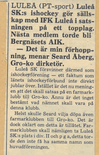 Seard Åberg - Mannen bakom Luleå Hockey Förening jubilerar Skzirm46