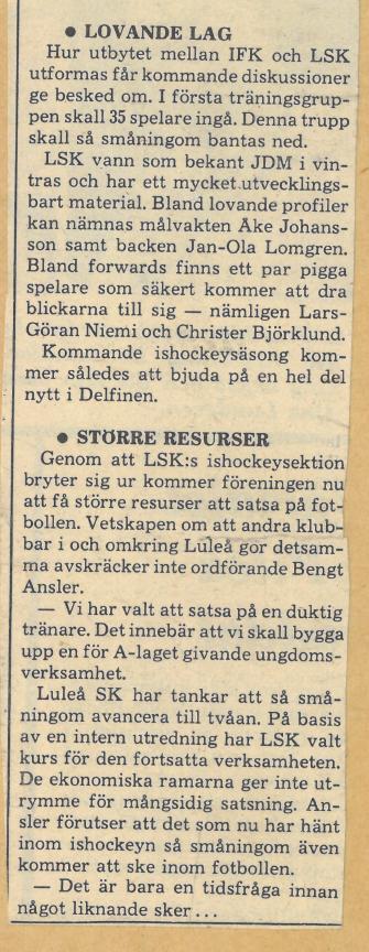 Seard Åberg - Mannen bakom Luleå Hockey Förening jubilerar Skzirm47