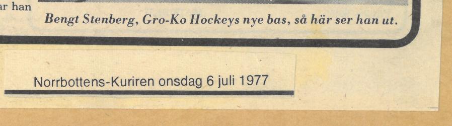 Seard Åberg - Mannen bakom Luleå Hockey Förening jubilerar Skzirm50