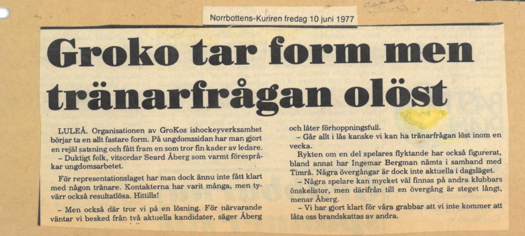 Seard Åberg - Mannen bakom Luleå Hockey Förening jubilerar Skzirm51