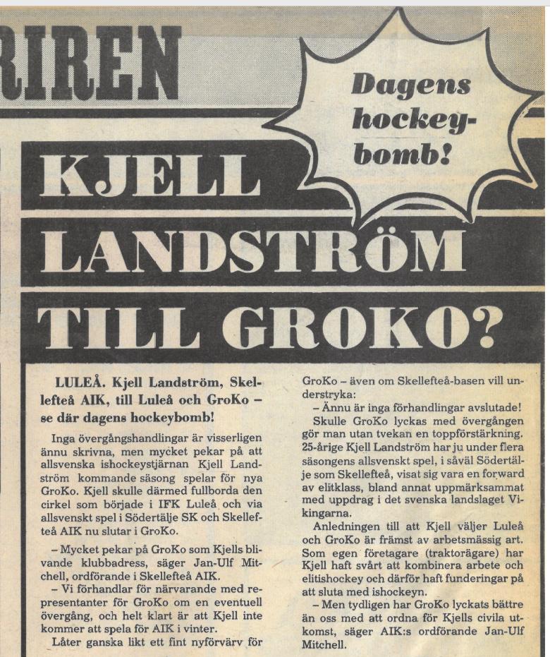 Seard Åberg - Mannen bakom Luleå Hockey Förening jubilerar Skzirm55
