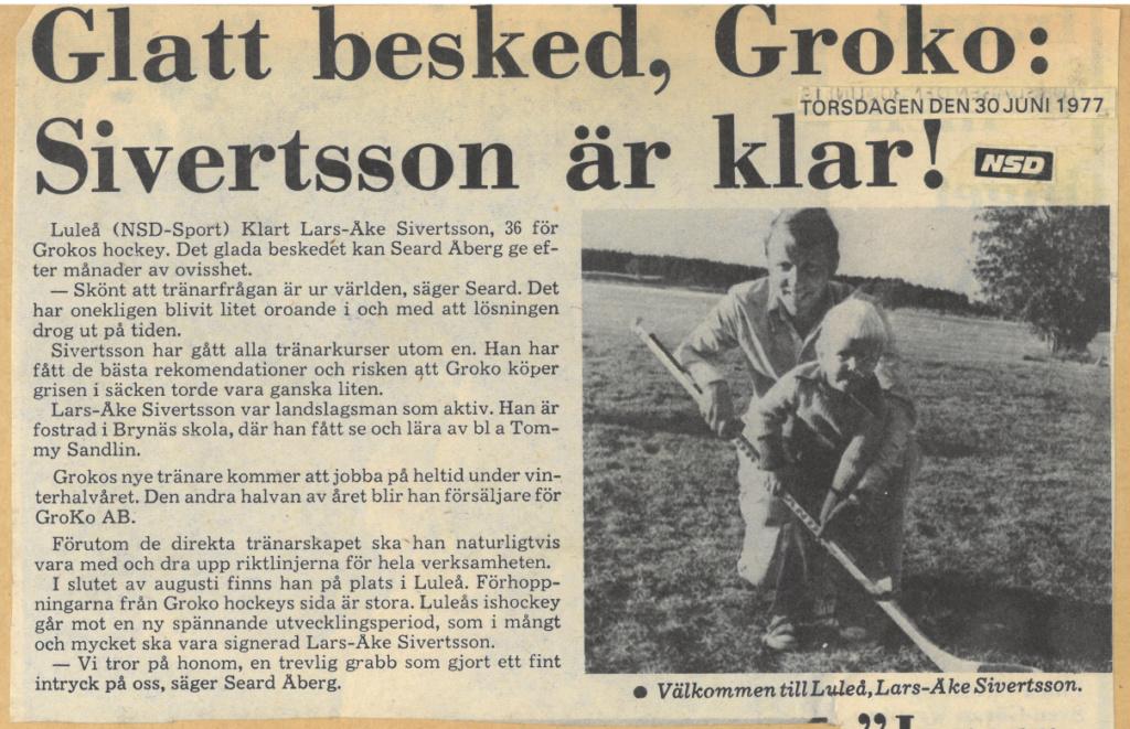 Seard Åberg - Mannen bakom Luleå Hockey Förening jubilerar Skzirm56
