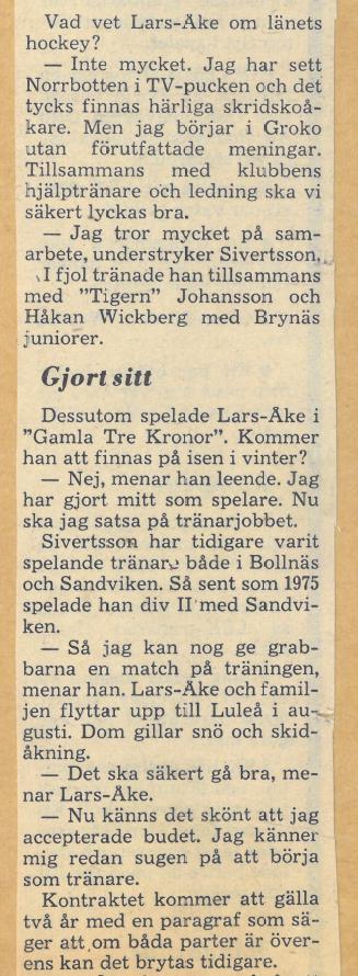 Seard Åberg - Mannen bakom Luleå Hockey Förening jubilerar Skzirm58