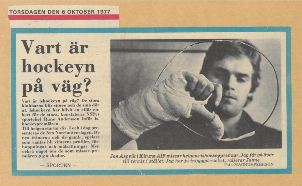 Seard Åberg - Mannen bakom Luleå Hockey Förening jubilerar Skzirm61