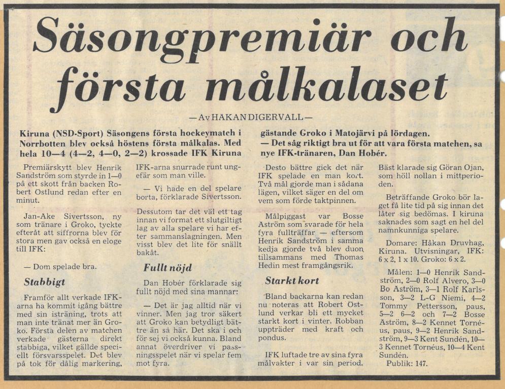 Seard Åberg - Mannen bakom Luleå Hockey Förening jubilerar Skzirm63