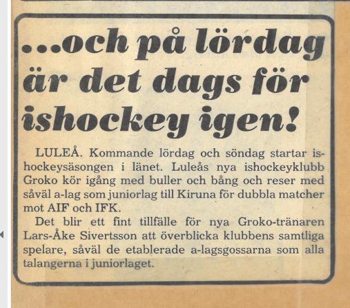 Seard Åberg - Mannen bakom Luleå Hockey Förening jubilerar Skzirm84