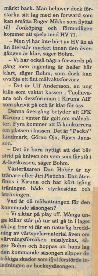 Seard Åberg - Mannen bakom Luleå Hockey Förening jubilerar Skzirm91
